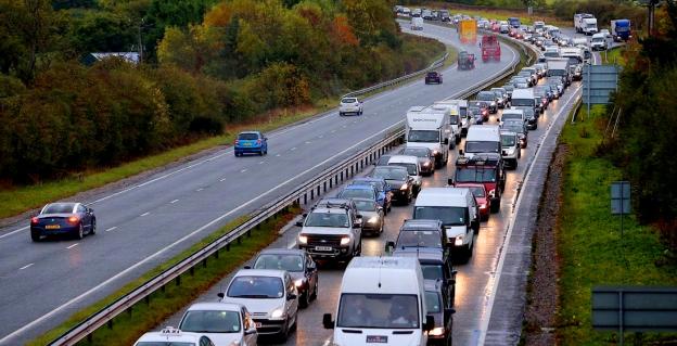 Bypass traffic jam.
