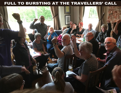 Travellers Call meeting smaller