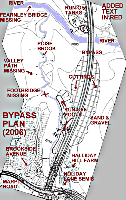Poise Brook Valley = Bypass plan in more detail.
