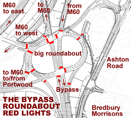 Map roundabout 2nd 450