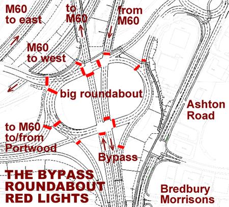 Map roundabout 2nd 450