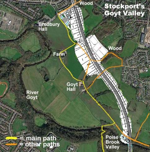 Goyt map aerial