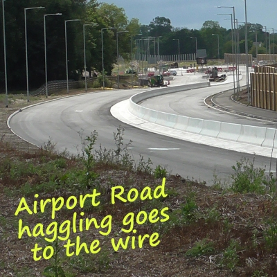 Airport road latest