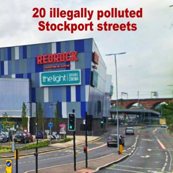 Air pollution stockport