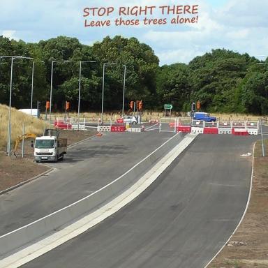Airport road Stop