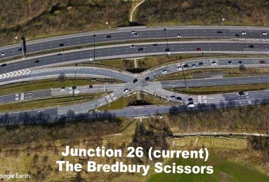 Junction 26 aerial