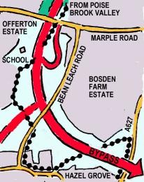 Offerton route