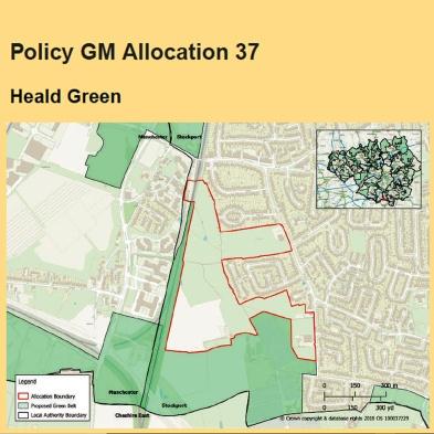spatial framework heald green