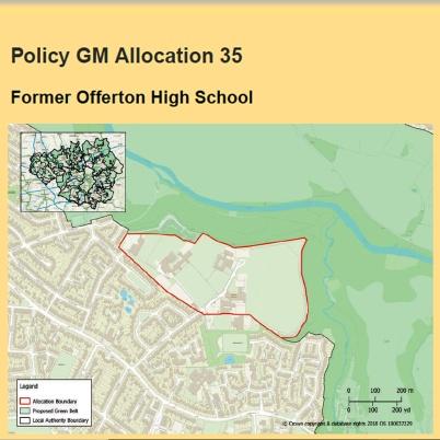 spatial framework offerton