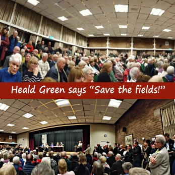 Heald Green big meeting