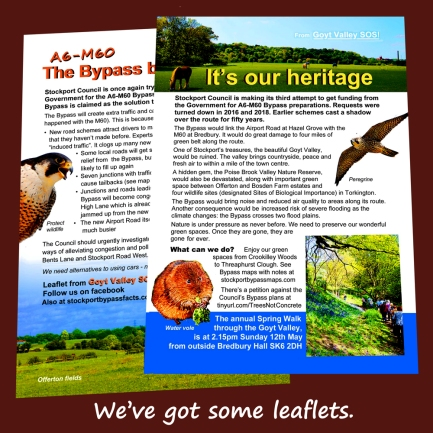 Leaflet April