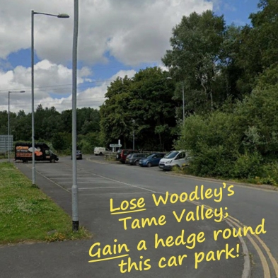 Tiviot Way car park 2 words